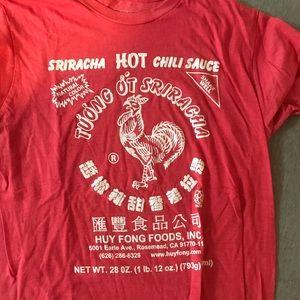 Other - Sriracha sauce t shirt